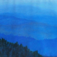 David Taylor - Great Smokies - Pastel - 16 x 20